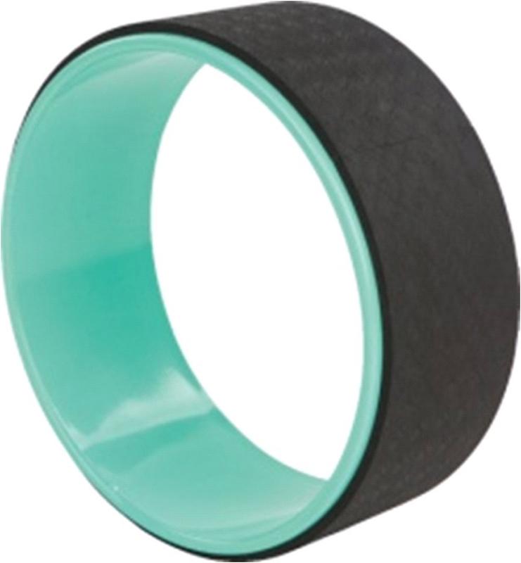 Колесо для йоги Indigo, цвет: голубой, черный, диаметр 32 см00024039Колесо для йоги Indigo очень хорошо использовать для улучшения прогибов, ведь изначально йога-колесо для этого и предназначалось!Помимо прочего, при помощи колеса для йоги, вы сможете не только укрепить и проработать мышцы спины, но и тренировать равновесие, концентрацию и гибкость безопасно и результативно. Благодаря ширине всего в 32 сантиметра и толстому антискользящему покрытию, колесо очень удобно захватывать руками, ложиться на него всем весом.