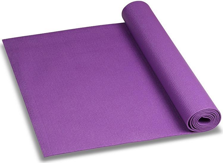 Коврик для йоги и фитнеса Indigo, цвет: сиреневый, 173 х 61 х 0,3 см коврик для йоги onerun цвет зеленый 173 х 61 см
