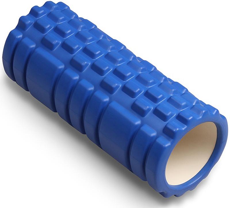 Ролик массажный для йоги Indigo, цвет: синий, 14 х 33 см00023293Валик массажный из ПВХ - предназначен для массажа до и после тренировки, а так же растяжки необходимых мышечных групп. За счет рельефной поверхности стимулиреут кровообращение, ускоряя восстановление после занятий и способствуя похудению. Регулярная растяжка и массаж помогут оставаться вам всегда в тонусе, делая ваше тело гибким и подтянутым.- Материал: ПВХ