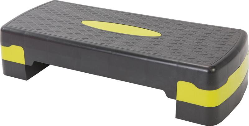Степ-доска для аэробики Indigo, 2 уровня, 68 х 28 см стойка для pump аэробики для 20 наборов fitness division fd rk bps 834