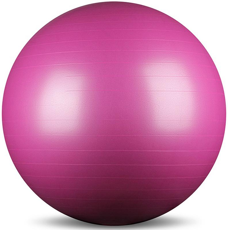 Мяч гимнастический Indigo Anti-burst, с насосом, диаметр 85 см мяч для лфк с ребенком
