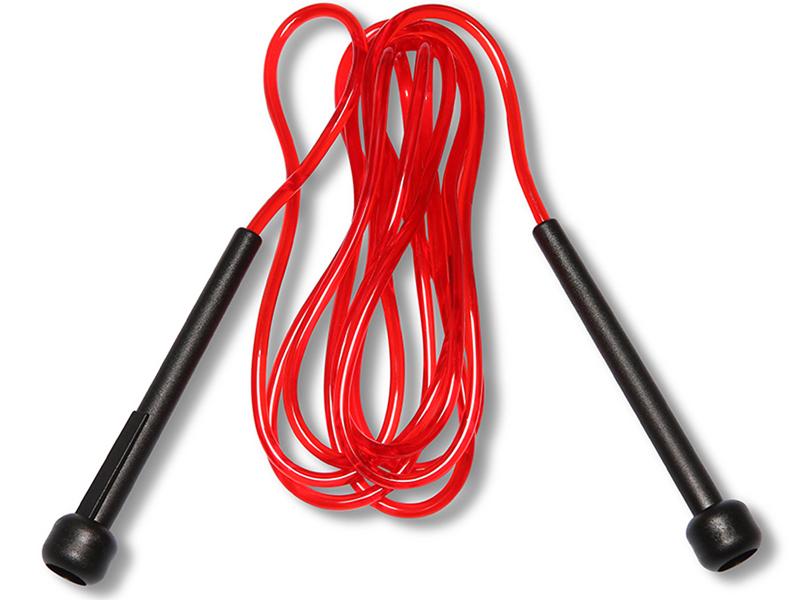 Скакалка Pro-Supra, длина 2,8 м00018164Скакалки Pro Supra - очень гибкие и удобно лежат в руках благодаря комфортным ручкам. Скакалки Pro Supra позволяют задействовать большое количество рабочих мышц и улучшает работу сердечно-сосудистой системы. Идеально поддерживают тонус в мышцах. Скакалка Pro Supra в удобной тубе для хранения и транспортировки.