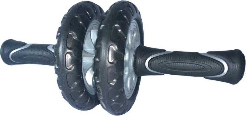 Ролик гимнастический  Pro-Supra , усиленный, 2 колеса - Фитнес