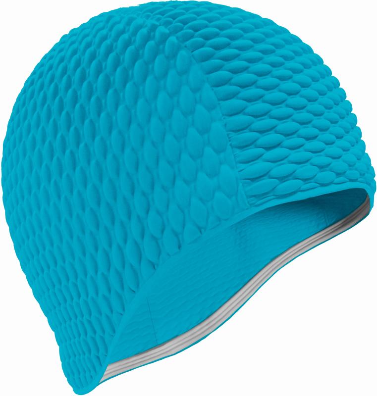 Шапочка для плавания Indigo Bubble, женская, цвет: голубой00020209Женская резиновая шапочка для плавания Indigo Bubble.За счет пузырьков шапочка намного более эластичная и не сдавливает голову, легкоодевается и снимается, не причиняя вреда волосам. Шапочка имеет оригинальный внешнийвид.Высококачественная резина, из которого изготовлена шапочка, гарантирует долгий срокслужбы при условии бережного использования.Шапочка для плавания защищает волосы от намокания, позволяя волосам оставатьсяотносительно сухими. Плавательная шапочка помогает подчеркнуть индивидуальность,удачно гармонирует с купальным костюмом.