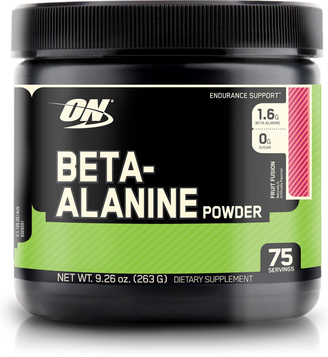 Бета-аланин Optimum Nutrition  Beta Alanine Powder , фруктовый, 263 г - Аминокислоты