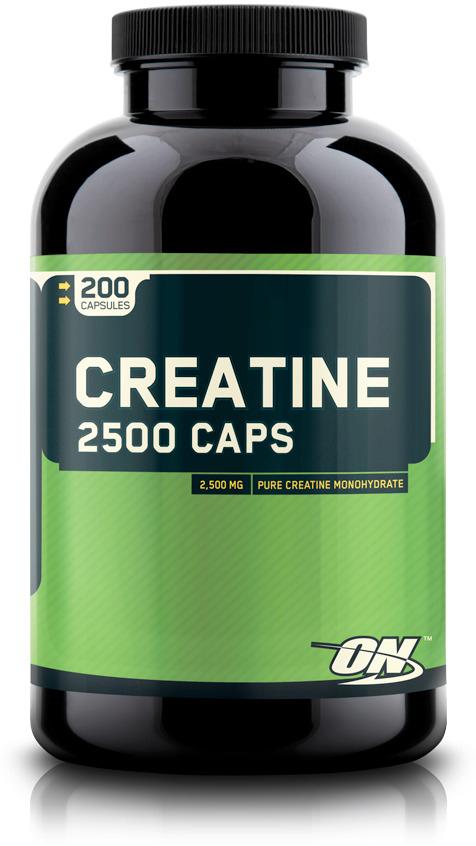 Креатин  Optimum Nutrition , 2500 мг, 200 капсул - Креатин