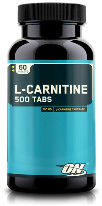 Аминокислота L-карнитин Optimum Nutrition L-Carnitine, 500 мг, 60 таблеток l карнитин sport technology nutrition 1500 клубника 500 мл