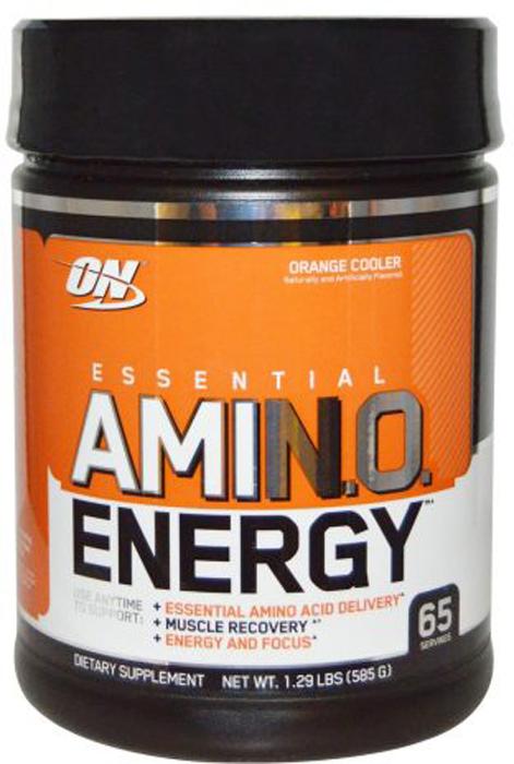 Аминокислотный комплекс Optimum Nutrition  Amino Energy , апельсин, 585 г - Аминокислоты