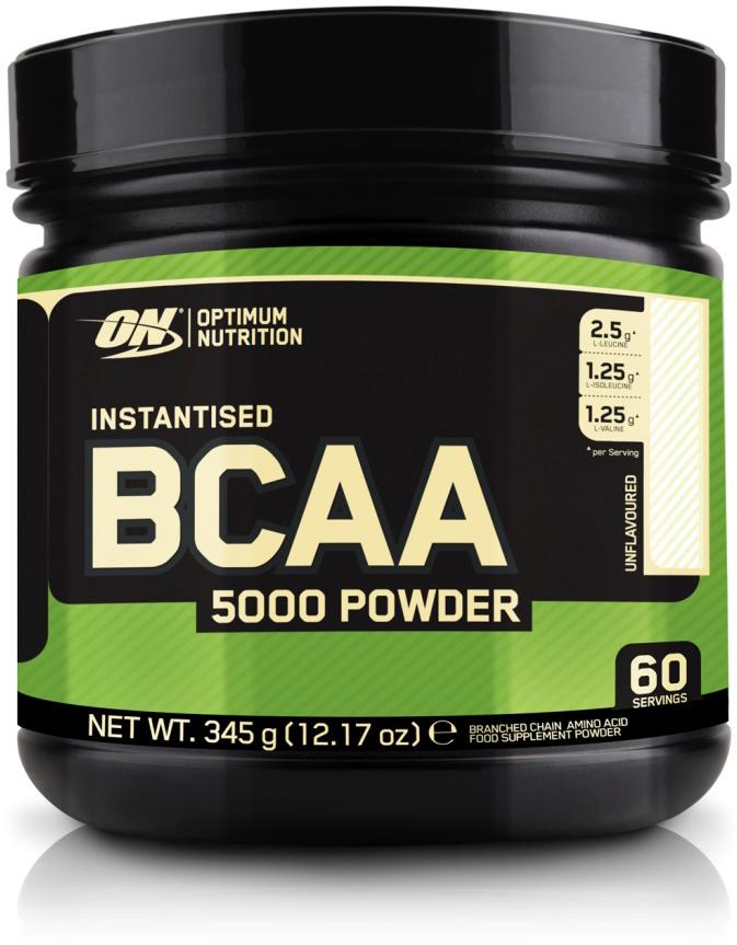 Аминокислоты Optimum Nutrition BCAA 5000 Powder, без вкуса, 345 г
