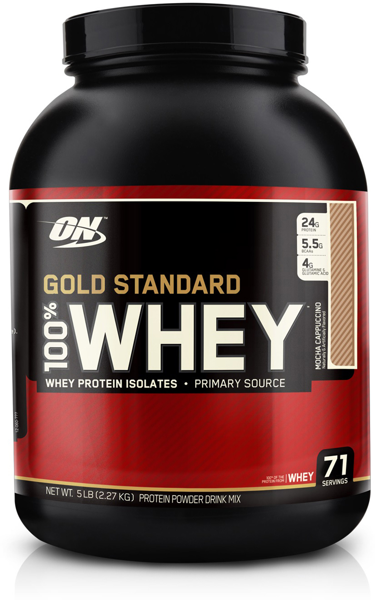 "Протеин Optimum Nutrition ""100% Whey Protein Gold Standard"", кофе, 2,26 кг"