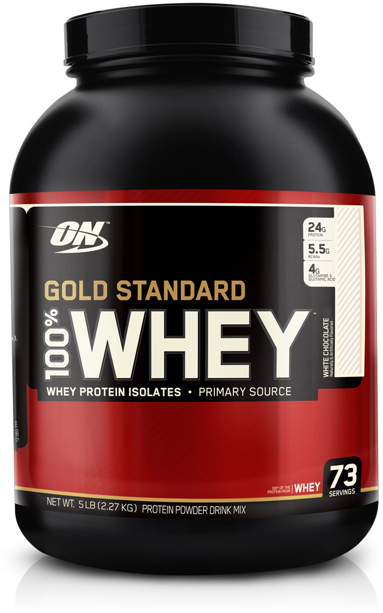 "Протеин Optimum Nutrition ""100% Whey Protein Gold Standard"", белый шоколад, 2,26 кг"