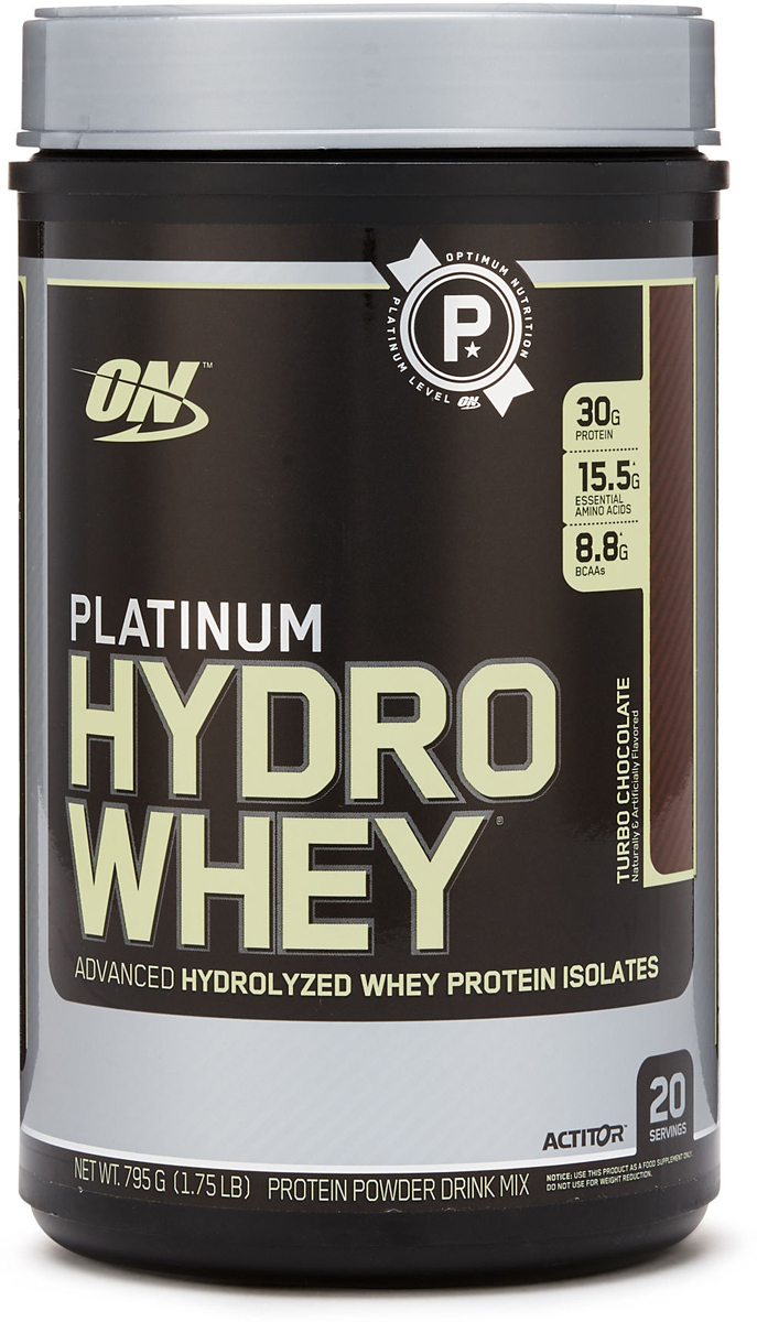 Протеин Optimum Nutrition Platinum HydroWhey, шоколад, 790 г