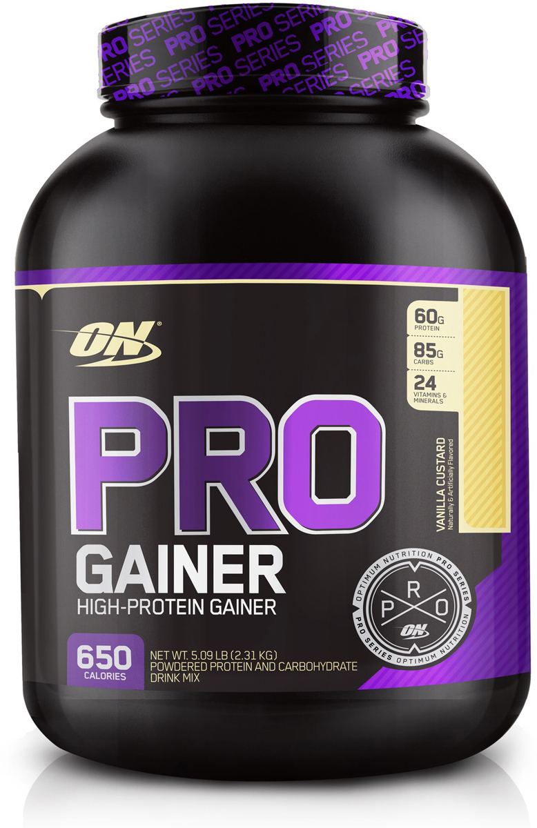 "Гейнер Optimum Nutrition ""Pro Gainer"", ваниль, 2,22 кг"