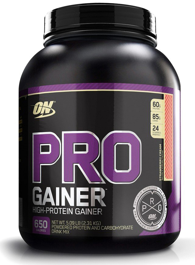 "Гейнер Optimum Nutrition ""Pro Gainer"", клубника, 2,22 кг"