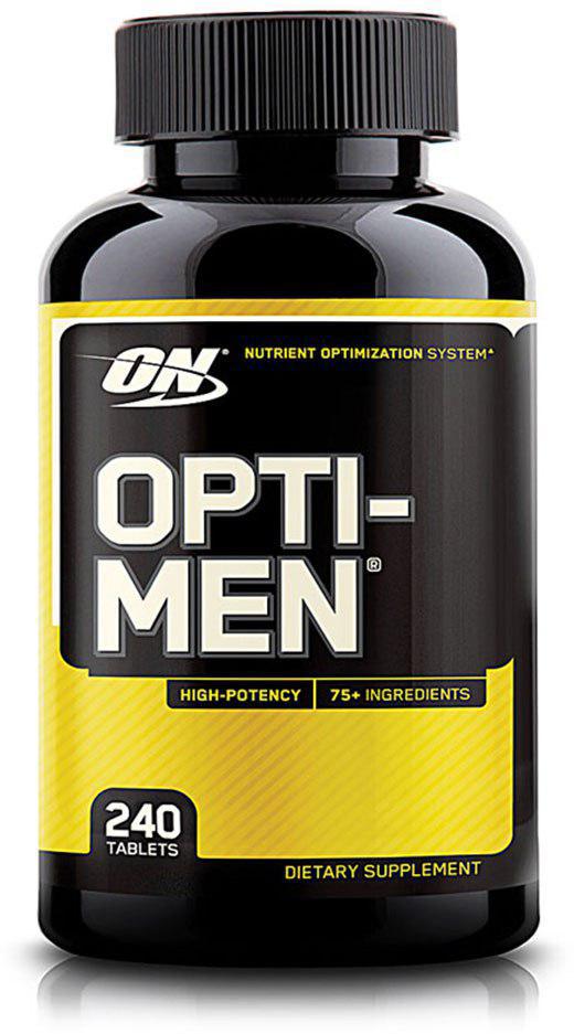Витаминно-минеральный комплекс Optimum Nutrition Opti-Men, 240 таблеток