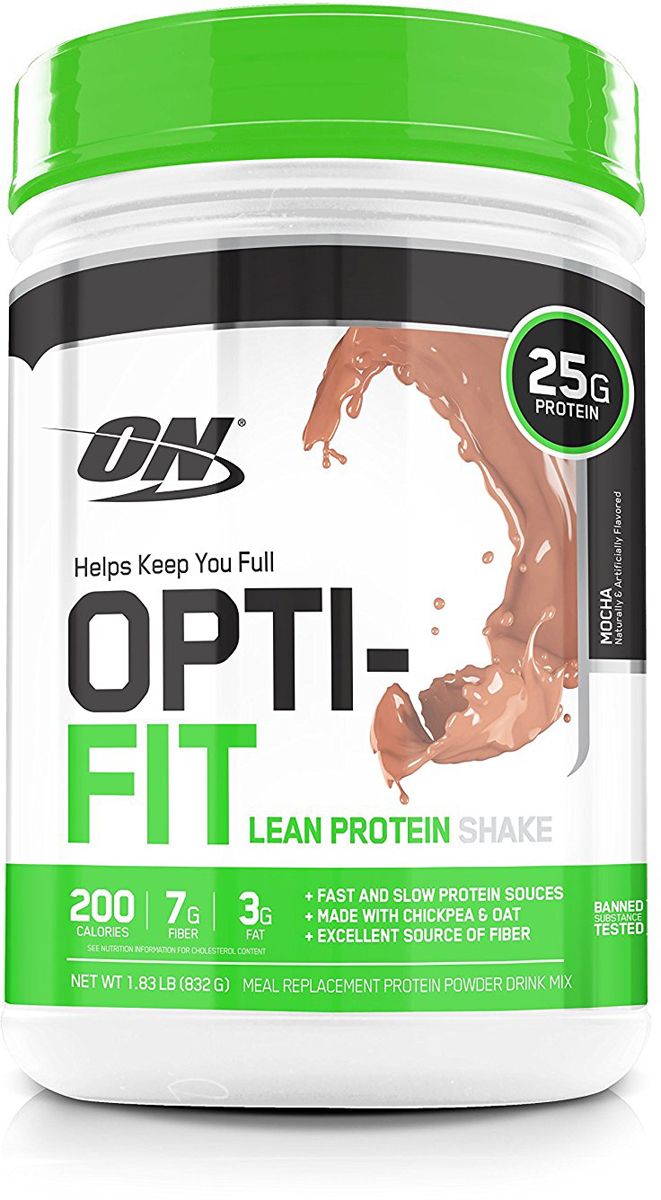 "Протеин Optimum Nutrition ""Opti-Fit Lean Protein"", кофе, 830 г"