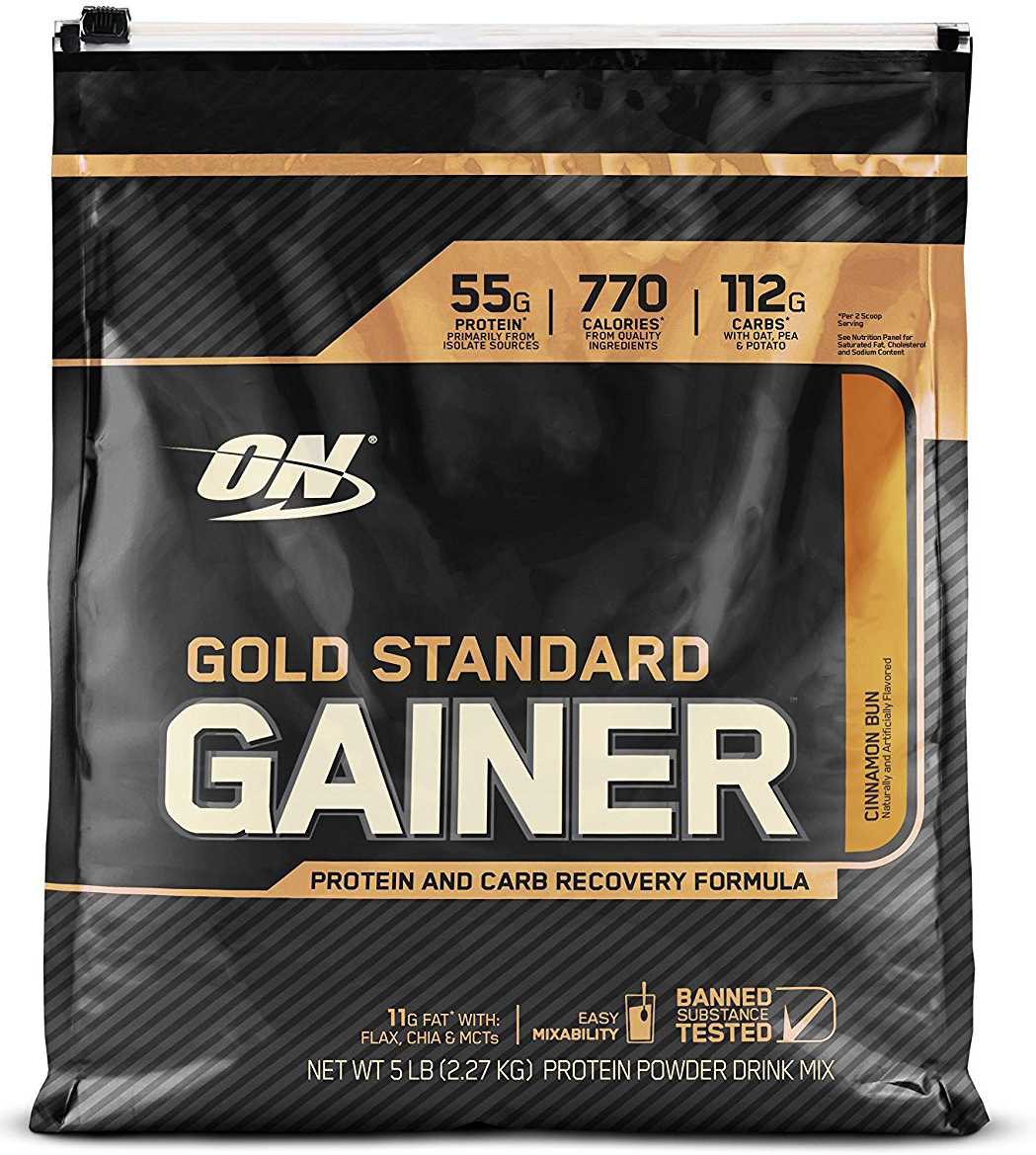 "Гейнер Optimum Nutrition ""Gold Standard Gainer"", булочка с корицей, 2,26 кг"