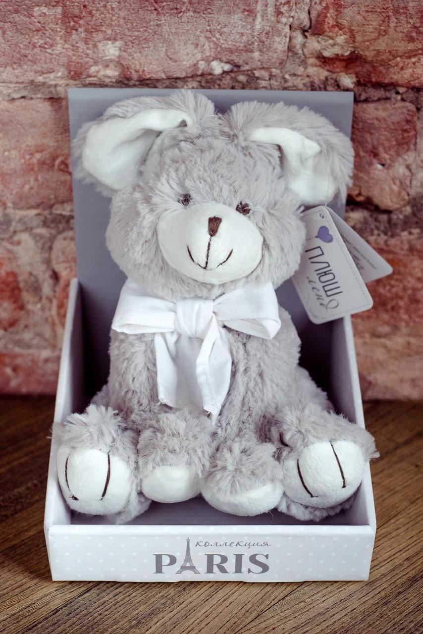 Плюш Ленд Мягкая игрушка Заяц 20 см sima land мягкая игрушка заяц в шарфике в клетку 326419