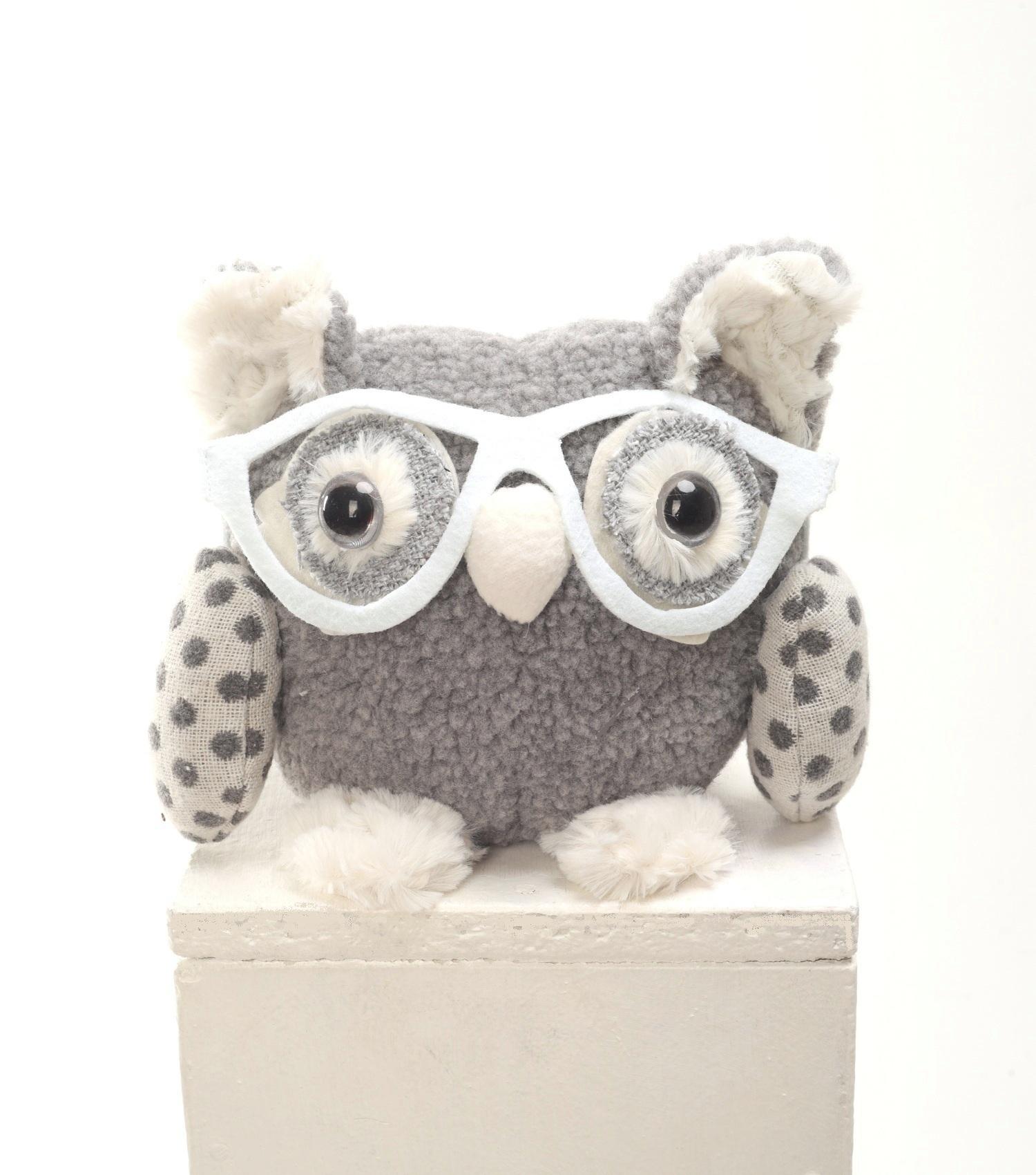 Плюш Ленд Мягкая игрушка Сова Интроверт 20 см 4moms электронное mamaroo 3 0 серый плюш