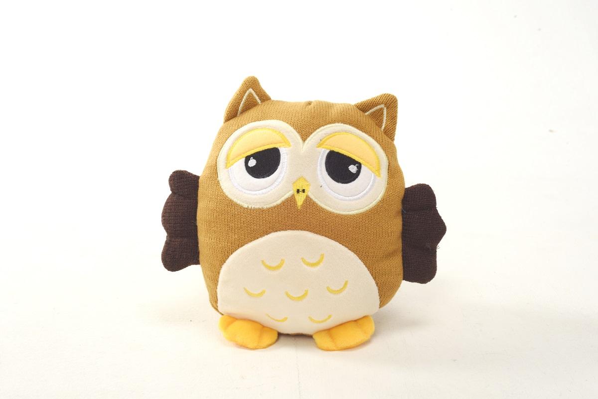 Плюш Ленд Мягкая игрушка Совиные настроения цвет хаки 21 см 4moms электронное mamaroo 3 0 серый плюш