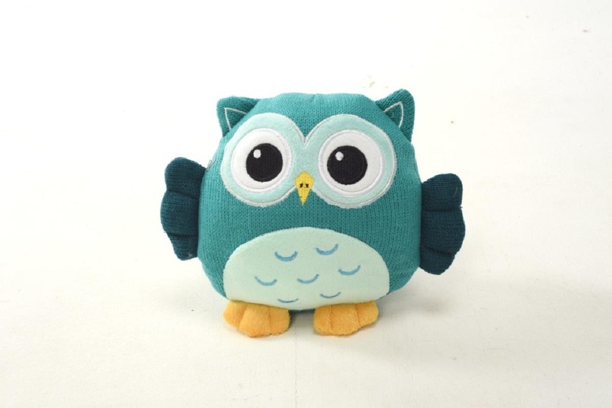 Плюш Ленд Мягкая игрушка Совиные настроения цвет синий 21 см мягкие игрушки плюш ленд мягкая игрушка енотик крошка 23см