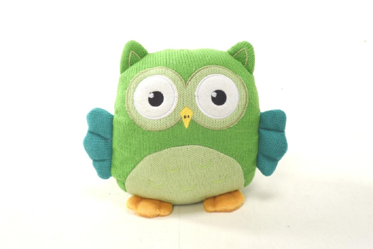Плюш Ленд Мягкая игрушка Совиные настроения цвет зеленый 21 см мягкие игрушки плюш ленд мягкая игрушка енотик крошка 23см