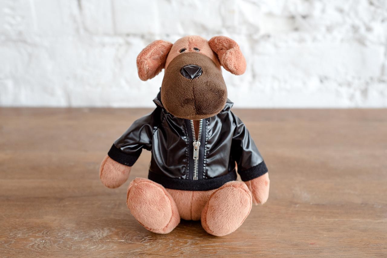 Плюш Ленд Мягкая игрушка Пес Трезор 22 см мягкая озвученная игрушка пес шарик 34 см