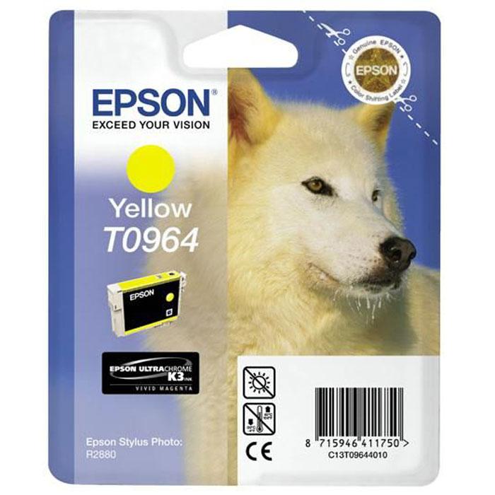 Epson C13T09644010, Yellow картридж для Stylus Photo R2880 картридж epson t009402 для epson st photo 900 1270 1290 color 2 pack