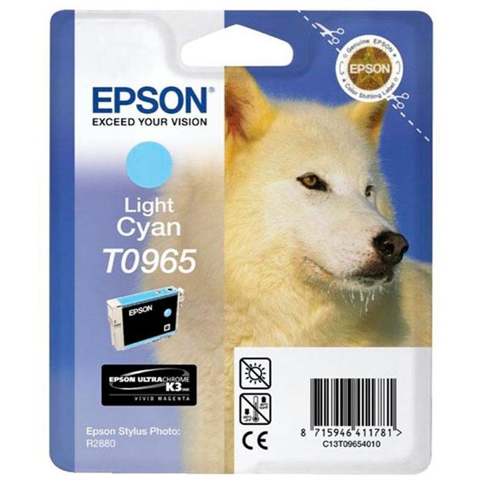 Epson C13T09654010, Light Cyan картридж для Stylus Photo R2880