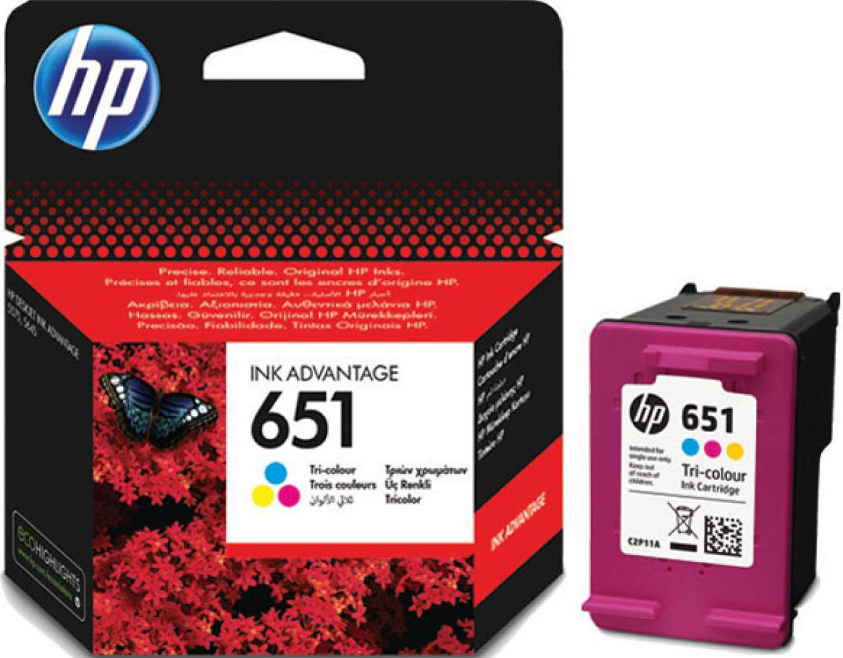 HP C2P11AE (651), Color картридж для HP DeskJet Ink Advantage 5645/5575 тонер картриджи hp ce270a