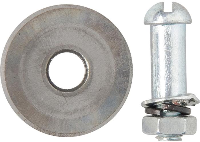 Ролик режущий для плиткореза МТХ, 22 х 10,5 х 2 мм87670Режущий ролик для плиткореза изготовлен из твердого сплава ВК-8.Используется как запасная-расходная часть к плиткорезам разных моделей при резке керамической кафельной плитки.