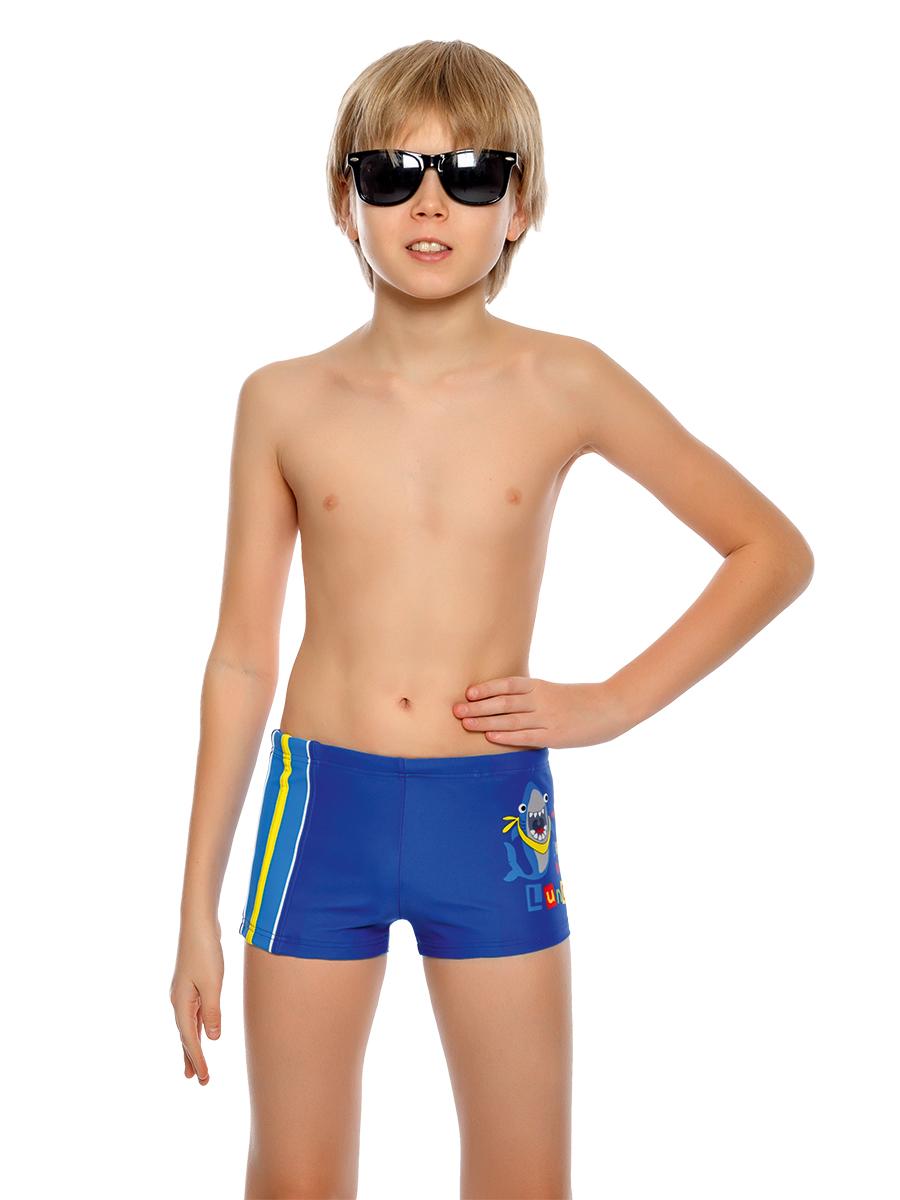 Купальные плавки для мальчика Arina Nirey, цвет: синий. BX 091805. Размер 116/122 каталог nirey