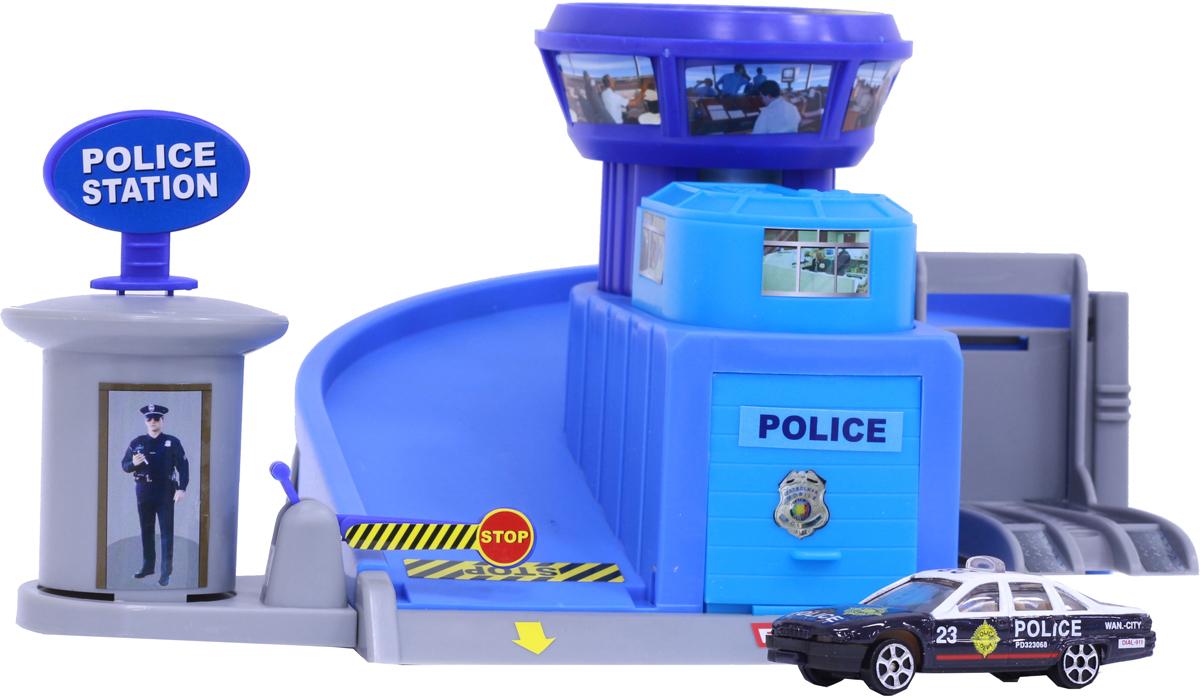 Pioneer Toys Гараж с машинкой Police Station