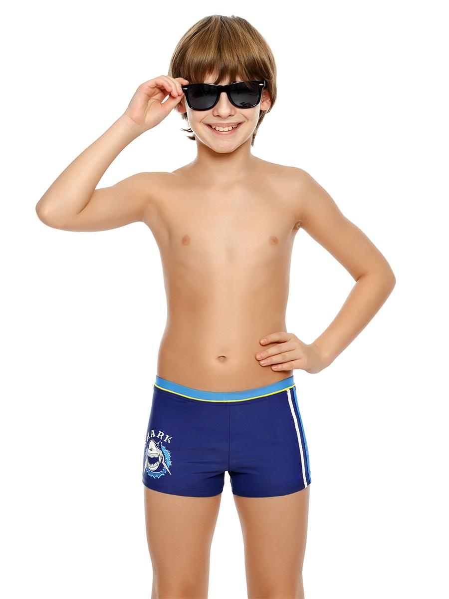 Купальные плавки для мальчика Arina Nirey, цвет: синий. BX 091810. Размер 140/146