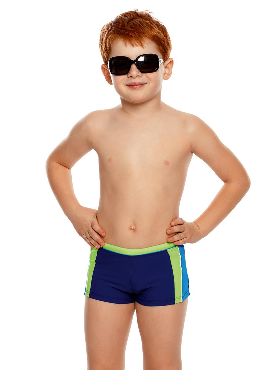 Купальные плавки для мальчика Arina Nirey, цвет: синий. BX 141809. Размер 152/158 плавки nirey для мальчика цвет синий