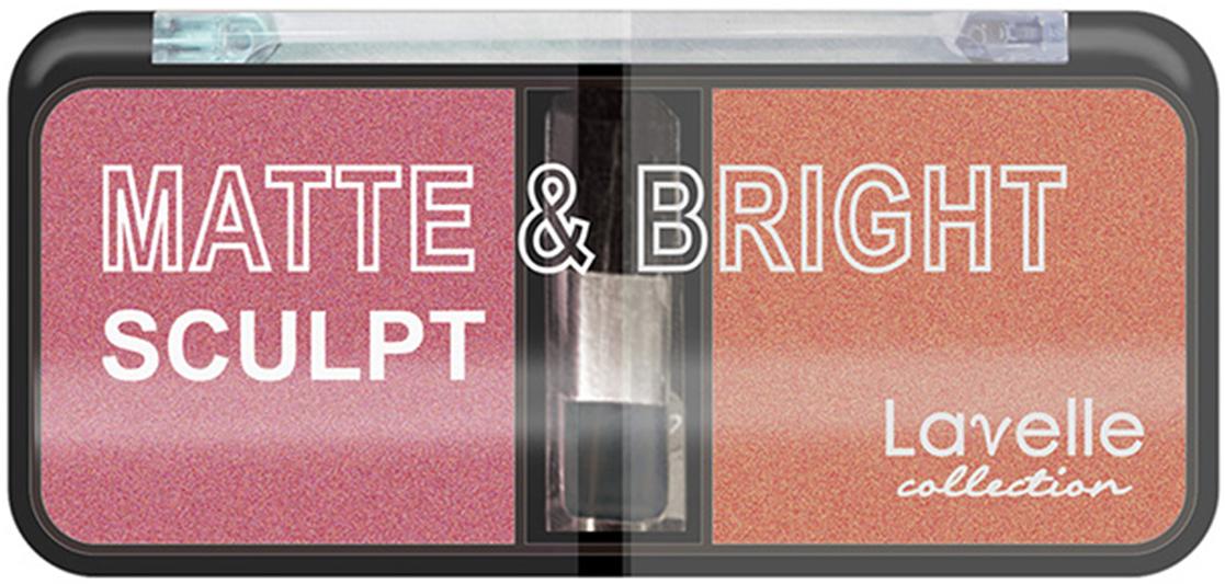 LavelleCollection румяна для лица BL-07 компактные тон 04 орехово-розовый, 39 гBL07-04Бархатисто-мягкие и нежные матовые компактные румяна Matte&Bright Sculpt прекрасно ложатся и отлично растушевываются. Натуральность оттенков позволяет коже выглядеть отдохнувшей и сияющей изнутри. В состав румян входят ухаживающие компоненты: каолин, ланолин, ланолиновое масло, UV-фильтр, экстракт Алоэ Вера. Каждая палитра содержит два гармонично сочетающихся оттенка. Упаковка снабжена удобным аппликатором.