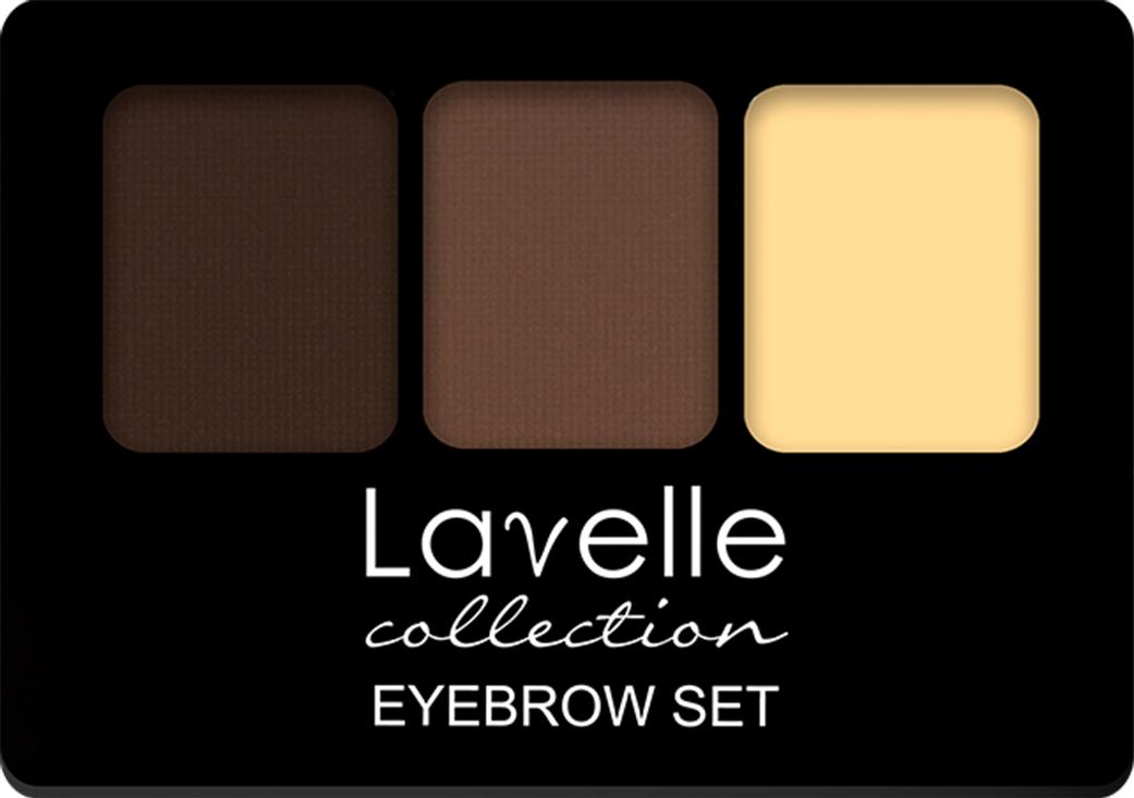 LavelleCollection Набор для бровей (тени/воск) BS-01 тон 02, 2,7 г, Lavelle Collection