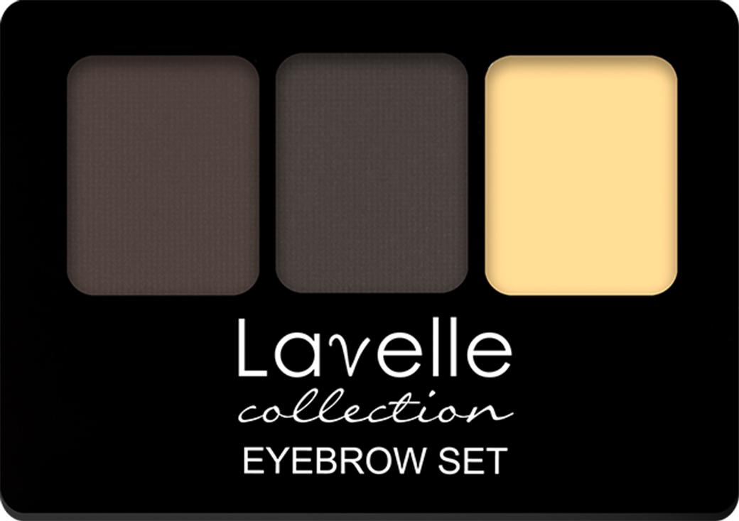 LavelleCollection Набор для бровей (тени/воск) BS-01 тон 03, 2,7 г, Lavelle Collection