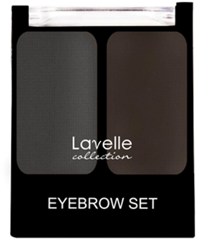 LavelleCollection Набор для бровей (тени) BS-02 тон 01 графитовый, 3,5 г