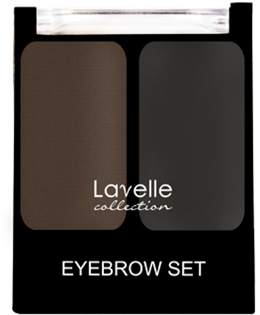 LavelleCollection Набор для бровей (тени) BS-02 тон 02 универсальный, 16 гBS02-02Наборы двухцветных теней для моделирования бровей отвечают одному из самых модных трендов – эффекту естественных бровей. Используя в макияже тени, брови приобретут максимально натуральный и ухоженный вид. Нежная текстура легко распределяется с помощью специальной скошенной кисточки, входящей в набор. Оттенки теней приближены к натуральному цвету волос, что позволяет создавать естественный макияж.