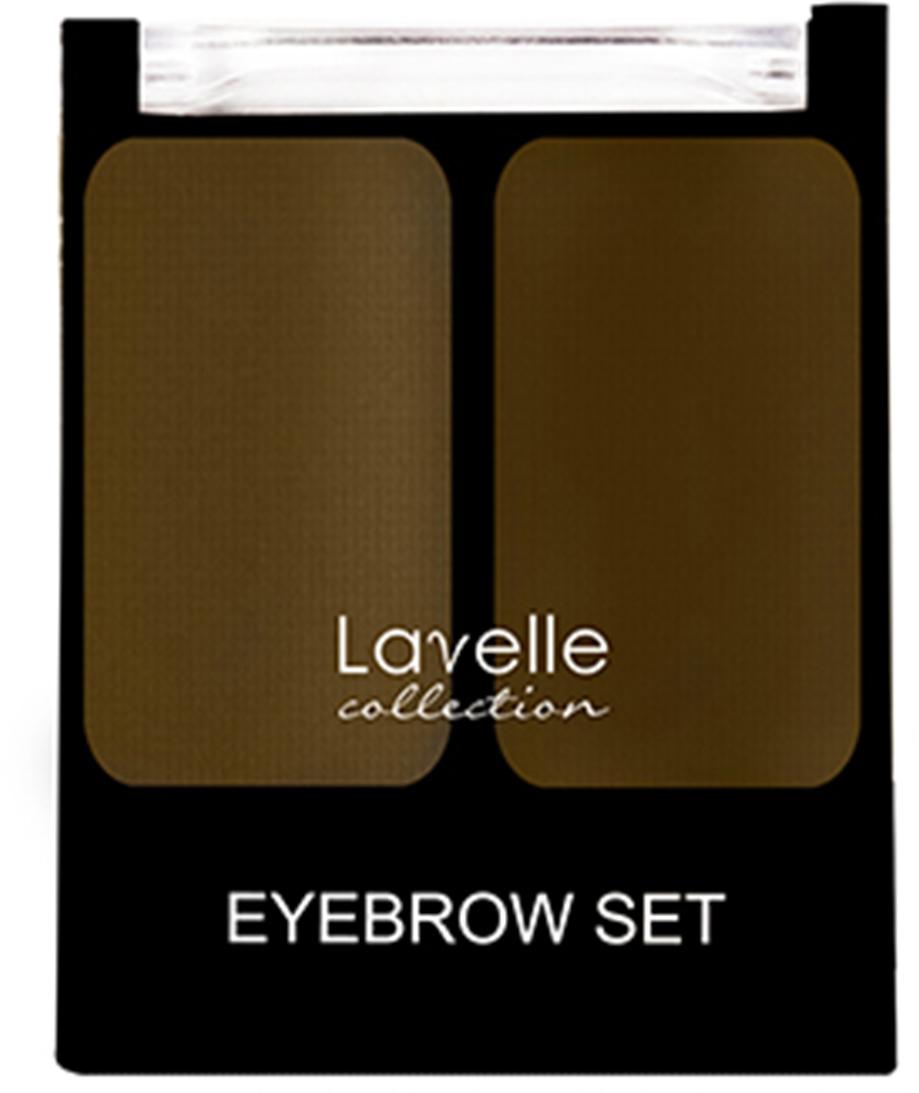 LavelleCollection Набор для бровей (тени) BS-02 тон 03 коричневый, 3,5 г