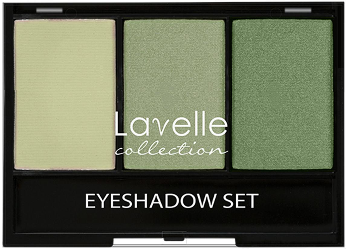 LavelleCollection тени ES-27 тройные тон 03 зелёный, 23 гES27-03Трехцветные тени для век имеют ультратонкую текстуру и высокую степень пигментации, благодаря которым тени легко наносятся и ровно ложатся, хорошо поддаются растушевке. В палетке представлены тени с шиммером и матовые, оттенки прекрасно сочетаются между собой и дополняют друг друга.
