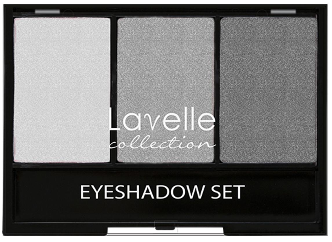 LavelleCollection тени ES-27 тройные тон 04 серый, 23 гES27-04Трехцветные тени для век имеют ультратонкую текстуру и высокую степень пигментации, благодаря которым тени легко наносятся и ровно ложатся, хорошо поддаются растушевке. В палетке представлены тени с шиммером и матовые, оттенки прекрасно сочетаются между собой и дополняют друг друга.