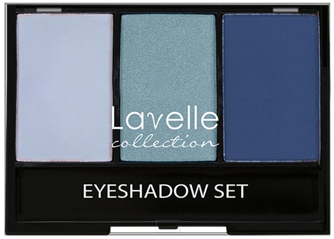 LavelleCollection тени ES-27 тройные тон 05 голубой, 23 г тени чернобыля книга