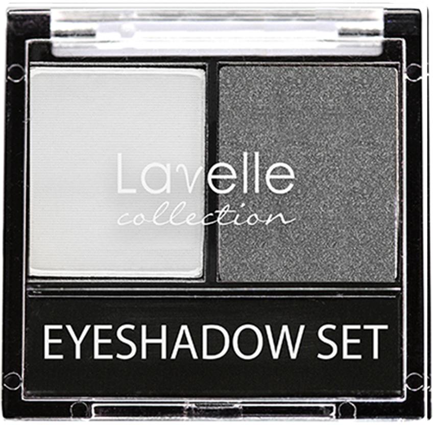 LavelleCollection тени ES-28 двойные тон 02 светло-серый, 20 г