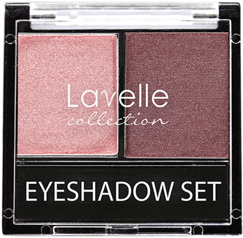 LavelleCollection тени ES-28 двойные тон 06 розовый, 20 г