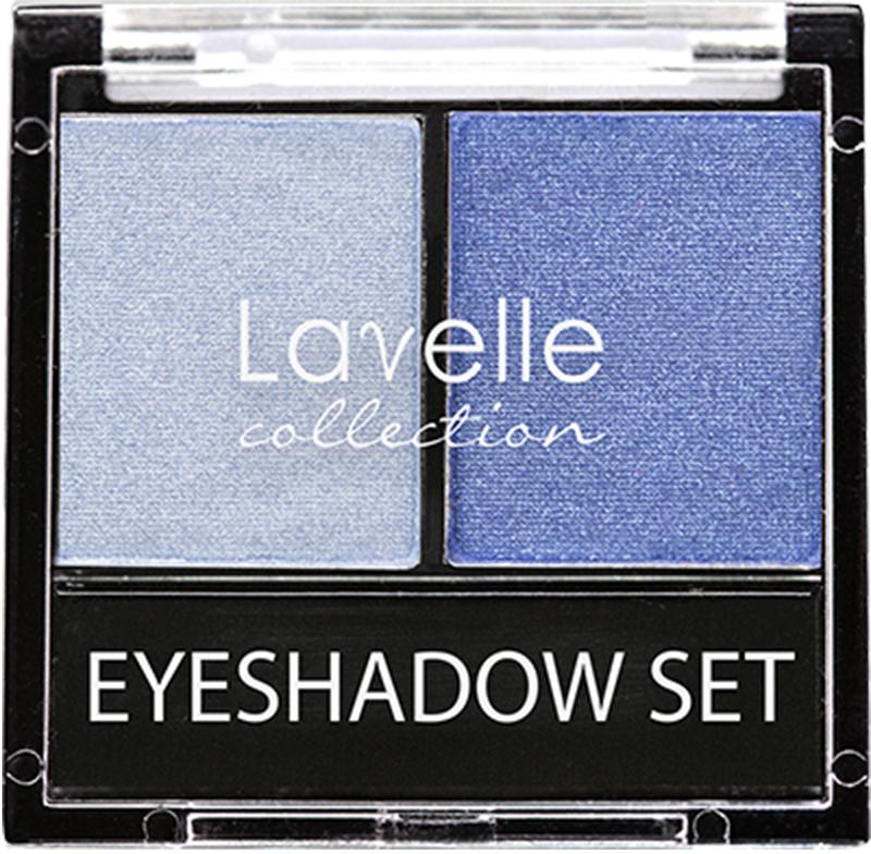 LavelleCollection тени ES-28 двойные тон 08 голубой, 20 г