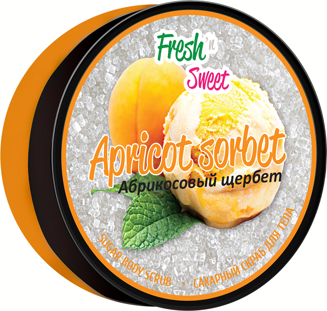 Скраб для тела сахарный FreshnSweet Абрикосовый Щербет, 200 гFS-42391SНежный сахарный скраб для тела «Абрикосовый щербет» с приятным фруктовым ароматом заставит вас окунуться в мир райского наслажджения. После применения скраба ваша кожа станет нежной и гладкой.