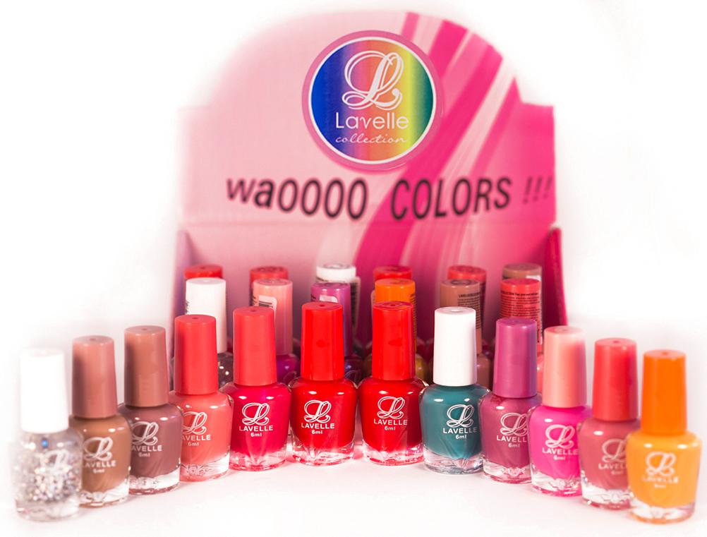 LavelleСollection лак для ногтей (мини-color) коллекция №14, 6 мл, 24 шт - Декоративная косметика