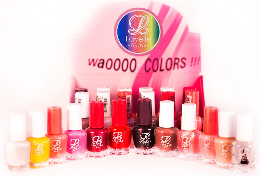 LavelleСollection лак для ногтей (мини-color) коллекция №17, 6 мл, 24 шт - Декоративная косметика